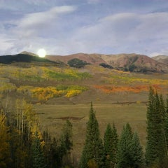 Photo taken at Gothic, CO by Paul Rixon on 9/23/2012