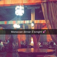 Photo taken at Sultan's Tent & Café Moroc by abrar a. on 9/23/2015