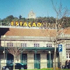 Photo taken at Estação Ferroviária de Viana do Castelo by Armando A. on 12/23/2012