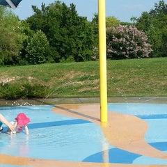 Photo taken at Falcon Pointe Splash Park by David H. on 7/23/2014