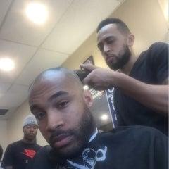 Photo taken at Kool Kuts Barbershop by Marcus T. on 4/11/2015