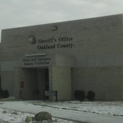 Photo taken at Oakland County Jail by James M. on 1/23/2013