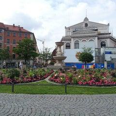 Photo taken at Gärtnerplatz by Axel S. on 7/5/2013