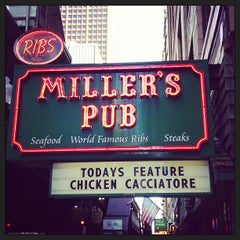 Photo taken at Miller's Pub by Dan H. on 6/7/2013