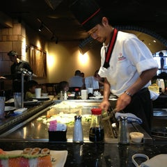 Photo taken at Wasabi Japanese Steakhouse by Erika S. on 2/11/2013