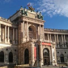 Photo taken at Österreichische Nationalbibliothek - Austrian National Library by Michael M. on 4/11/2013