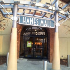 Photo taken at Hanes Mall by John R. on 11/23/2012