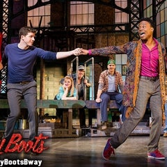 Photo taken at Kinky Boots at the Al Hirschfeld Theatre by Richard C. on 4/4/2013