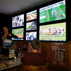 Photo taken at Press Box Sports Emporium & Eatery by Cal C. on 11/10/2013