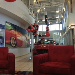 Photo taken at Nyle Maxwell Chrysler Dodge Jeep Ram Supercenter by Chris C. on 2/5/2013
