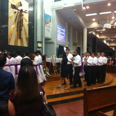 Photo taken at Church of Our Lady Of Perpetual Succour by JM G. on 12/19/2012