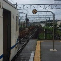Photo taken at 東金沢駅 (Higashi-Kanazawa Sta.) by Yuriko I. on 8/17/2014