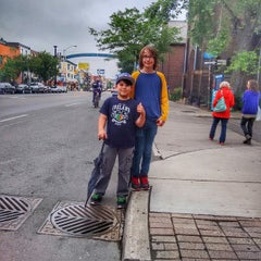 Photo taken at Greek Town, The Danforth by Brian W. on 6/30/2015