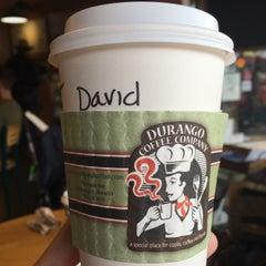 Photo taken at Durango Coffee Company by David G. on 12/19/2015