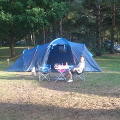 Photo taken at Sandringham Camping and Caravanning Club Site by Stephanie C. on 8/20/2013