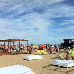 Photo taken at Bikini Beach by Bruno R. on 12/30/2012