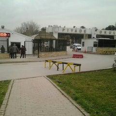 Photo taken at Piyade Okulu by Yılmaz B. on 4/1/2013