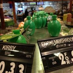 Photo taken at Super H Mart by Caff H. on 11/11/2012