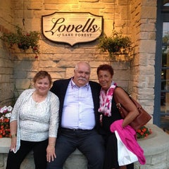 Photo taken at Lovells of Lake Forest by Susan K. on 7/27/2014