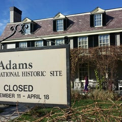 Photo taken at Adams National Historic Park by Attila V. on 11/11/2013