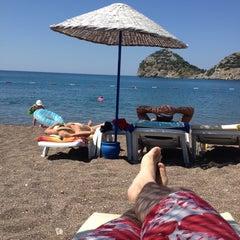 Photo taken at Perili Bay Resort by Metin E. on 6/18/2013