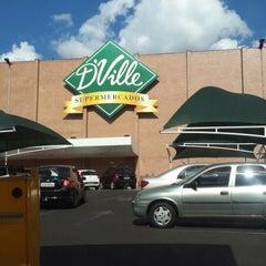 Photo taken at D'Ville Supermercados by Trem D. on 7/13/2013