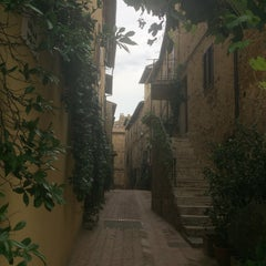 Photo taken at Pienza by Pascal T. on 8/14/2015