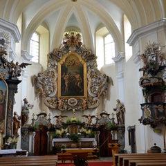 Photo taken at Kostel sv. Jana Křtitele by Marek K. on 6/23/2013