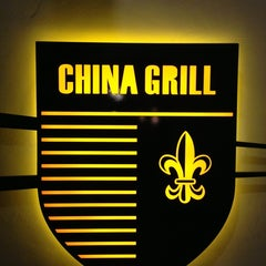 Photo taken at China Grill by Edwin K. on 12/30/2012