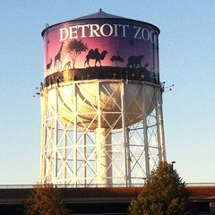 Photo taken at Detroit Zoo Water Tower by J_Stoz on 10/8/2013