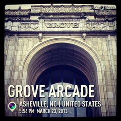 Photo taken at Grove Arcade by Manny G. on 3/23/2013