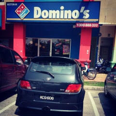 Photo taken at Domino's Pizza by Fadzuan T. on 3/30/2013