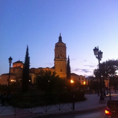 Photo taken at Catedral de Guadix by Asier on 8/23/2014