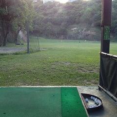 Photo taken at La Cinta Golf driving range by Cesar Alejandro H. on 10/20/2013