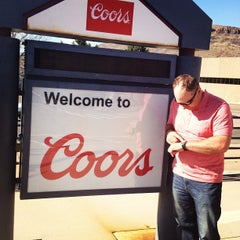 Photo taken at Coors Brewing Company by Troy S. on 4/4/2013