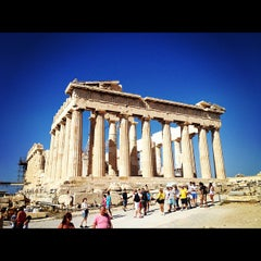 Photo taken at Ακρόπολη Αθηνών (Acropolis of Athens) by Denis P. on 10/3/2012
