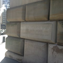 Photo taken at Federal Reserve Bank of New York by Itai N. on 4/4/2013