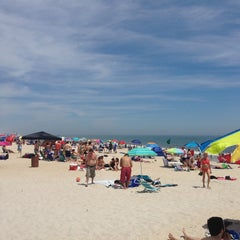 Photo taken at Robert Moses State Park Beach by Benjamin S. on 7/7/2013