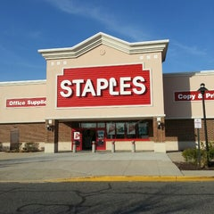 Photo taken at Staples by Fred K. on 4/14/2013