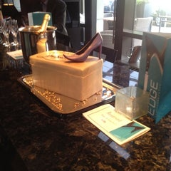 Photo taken at EDGE Restaurant And Bar At Four Seasons Hotel Denver by Tim J. on 9/14/2012
