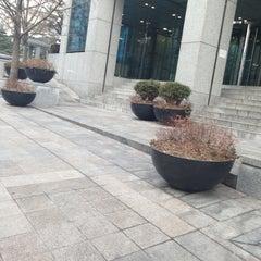 Photo taken at 삼정개발빌딩 by Yoonseok H. on 2/17/2013
