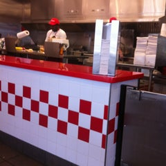 Photo taken at Five Guys by Empty A. on 5/11/2013