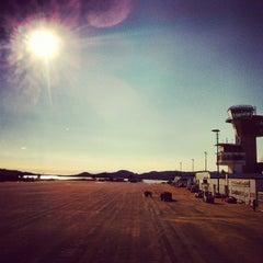 Photo taken at Kristiansand Lufthavn, Kjevik (KRS) by Emile N. on 2/24/2013