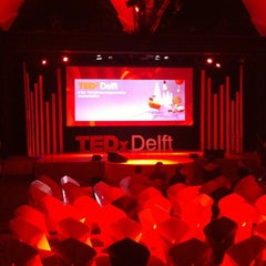 Photo taken at TEDxDelft by Emile N. on 10/5/2012