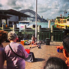 Photo taken at Circular Quay Ferry Terminal by Hugh C. on 1/26/2013