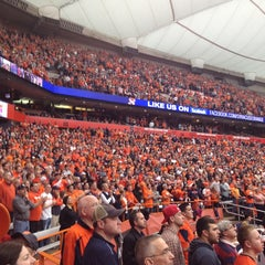 Photo taken at Carrier Dome by Larry W. on 1/12/2013