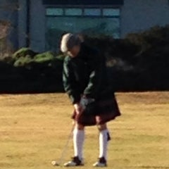 Photo taken at Pacific Grove Golf Links by Richard H. on 1/1/2014