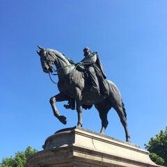 Photo taken at Karlsplatz by Michael B. on 6/21/2014