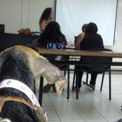 Photo taken at Facultad de Letras y Comunicación by Jonathan L. on 6/10/2014