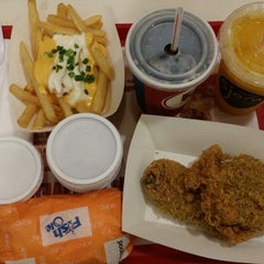 Photo taken at KFC by Amos D. on 1/16/2014